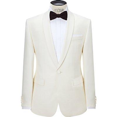 John Lewis Tailored Dress Suit Jacket, White