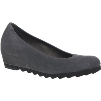 Gabor Request Wide Fit Wedge Heeled Pumps