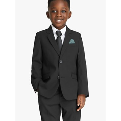 John Lewis Heirloom Collection Boys' Black Suit Jacket, Black