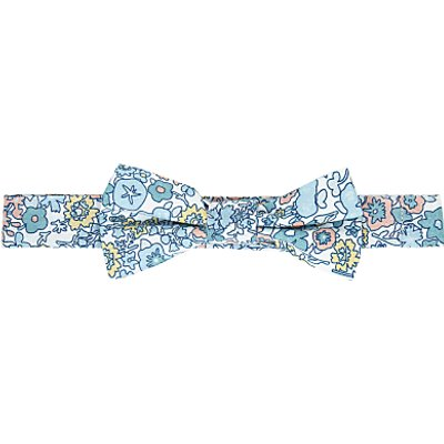 John Lewis Heirloom Collection Boys' Archive Floral Bow, Blue