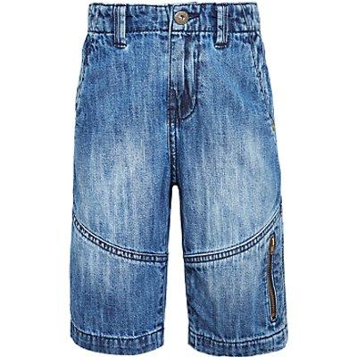 John Lewis Boys' Denim Shorts, Blue