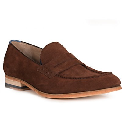 Oliver Sweeney Penny Loafers, Chocolate