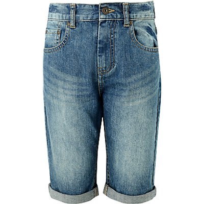 John Lewis Children's Denim Shorts, Blue
