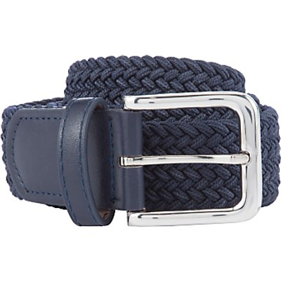 John Lewis Children's Woven Belt, Navy