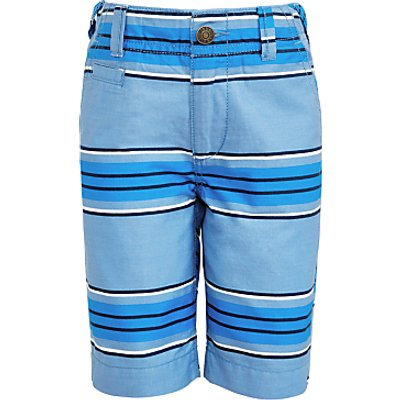 John Lewis Boys' Stripe Shorts, Blue