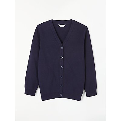 John Lewis V-Neck School Cardigan