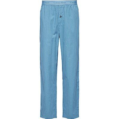 8718935115363   Calvin Klein Martin Check Print Lounge Pants  Teal Store