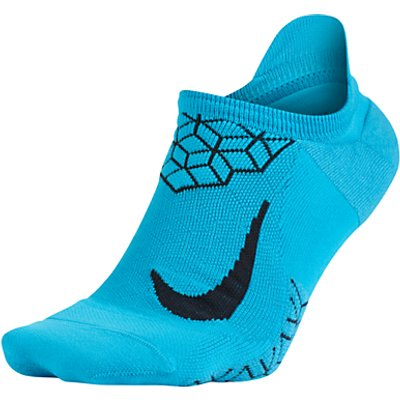 Nike Unisex Dry Elite Cushioned No Show Running Sock - 091206375177