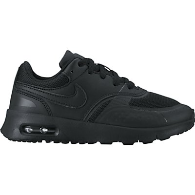 Nike Children's Air Max Vision PS Trainers, Black