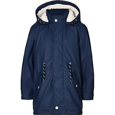 John Lewis Boys' Zinfandel Rubber Mac Coat