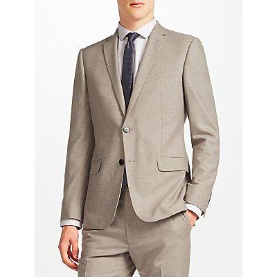 Kin by John Lewis Filey Slim Fit Suit Jacket, Oatmeal