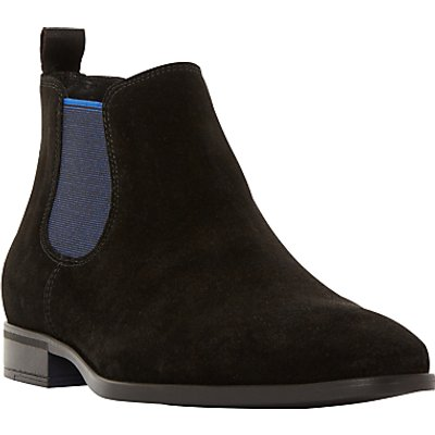 Dune Maritime Suede Colour Pop Slip-On Chelsea Boots