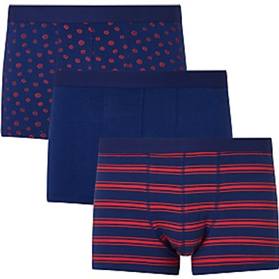 23400368 | John Lewis Marigold Trunks  Pack of 3  Blue Store