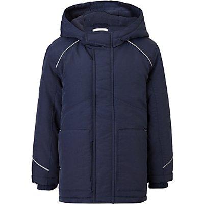 John Lewis Unisex School Coat, Navy
