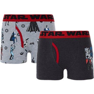 Star Wars Boys' Trunks, Pack of 2
