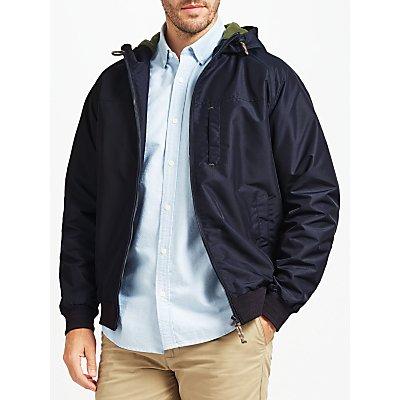 John Lewis Hooded Sports Jacket, Navy
