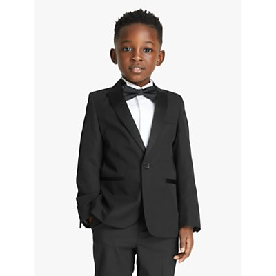 John Lewis Heirloom Collection Boys' Tuxedo Jacket, Black
