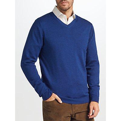 John Lewis Made in Italy Merino Wool V-Neck Jumper