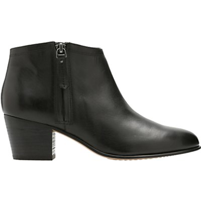 Clarks Maypearl Alice Block Heeled Ankle Boots