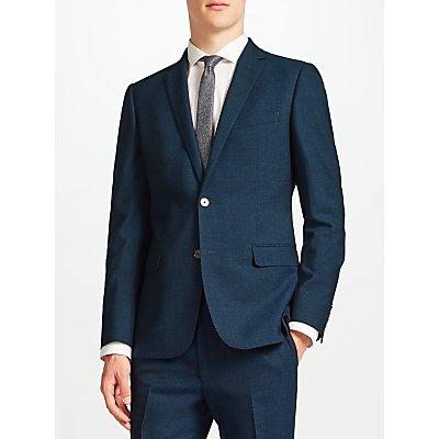 Kin by John Lewis Levy Slim Fit Suit Jacket, Teal
