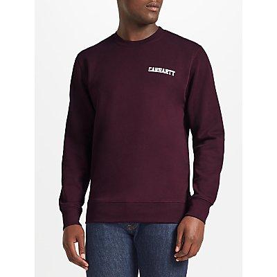 Carhartt WIP College Sweatshirt, Damson