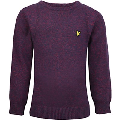 Lyle & Scott Boys' Mouline Jumper, Red