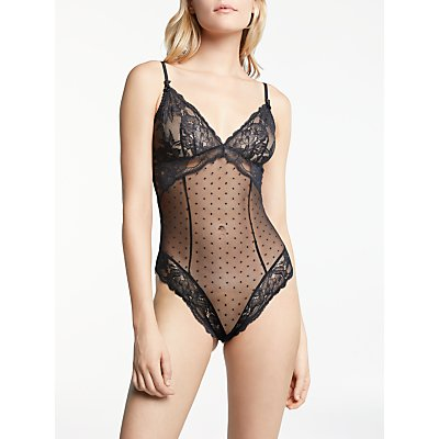 AND/OR Arabella Lace Body, Black