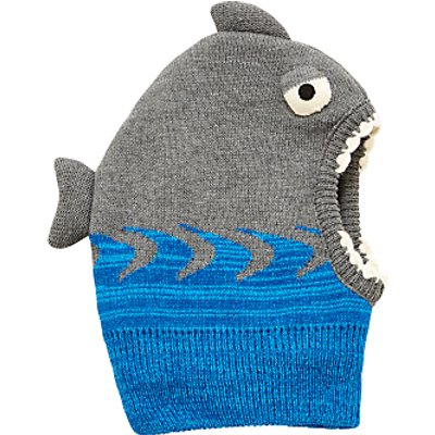 John Lewis Children's Shark Balaclava, Grey