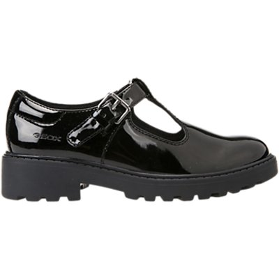 Geox Children's Casey T-Bar School Shoes