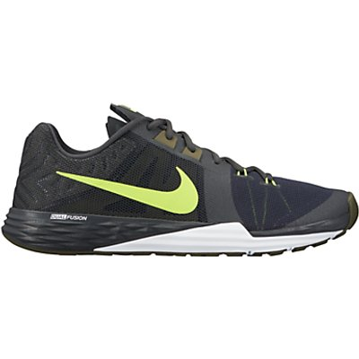 Nike Prime Iron DF Men's Cross Trainer, Black/Volt