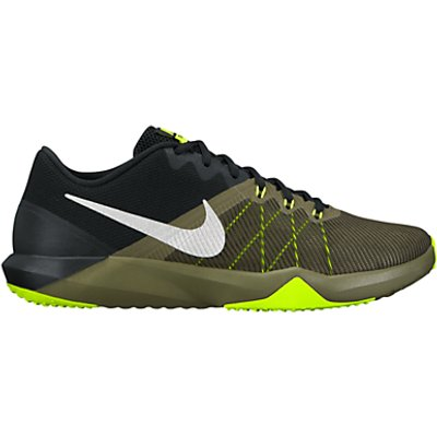 Nike Retaliation TR Cross Trainers, Silver/Green