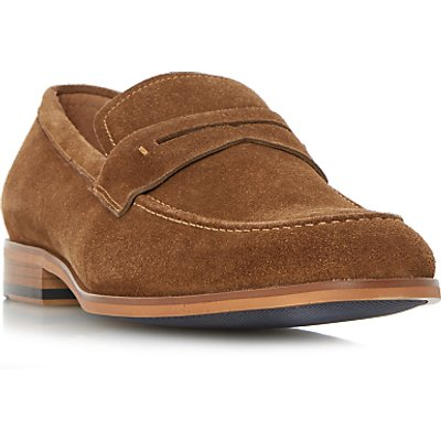 Dune Ruling Penny Loafers, Tan