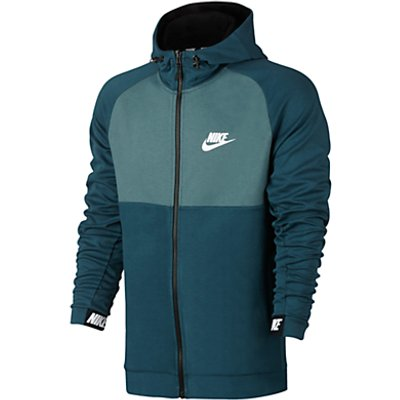 Nike Sportswear Advance 15 Hoodie, Blue/Black