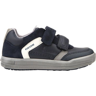 Geox Children's Azrach Rip Tape Shoes, Navy/Grey