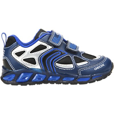Geox Children's Shuttle Rip-Tape Trainers, Navy Royal