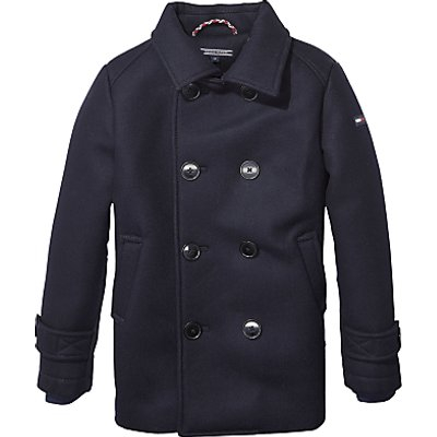Tommy Hilfiger Padded Peacoat Jacket, Navy