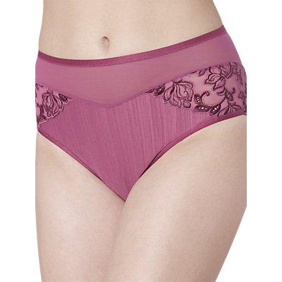 FLORALE by Triumph Iris Maxi Briefs, Pale Pink