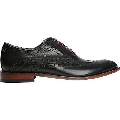 Oliver Sweeney Fellbeck Leather Lace-Up Brogues, Black