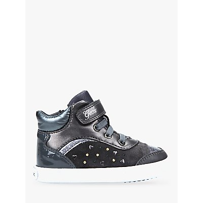 Geox Children's Kilwi Shoes, Charcoal
