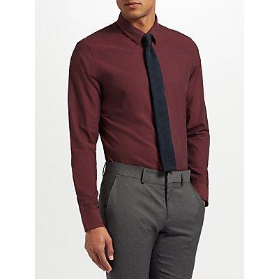 J. Lindeberg Texture Shirt, Burgundy