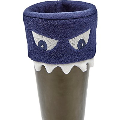 Little Joule Children's Smile Welly Socks, Navy