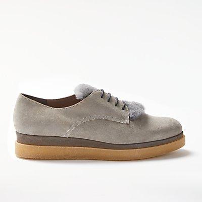 Modern Rarity Farva Flatform Brogues, Grey