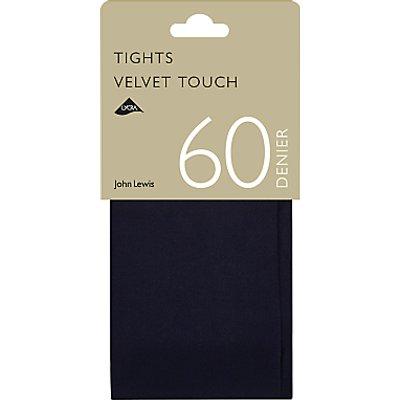 John Lewis 60 Denier Velvet Touch Opaque Tights