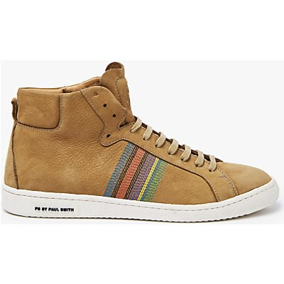 PS by Paul Smith Kim Hazlenut Hi-Top Trainers, Hazelnut Brown
