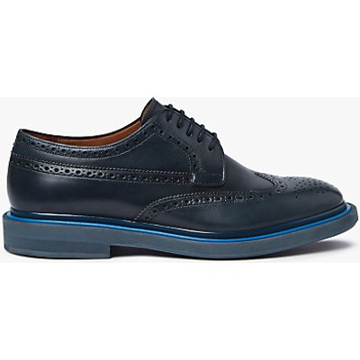 Paul Smith Junior Leather Brogues, Dark Navy