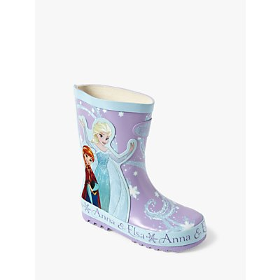 Disney Frozen Children's Wellington Boots, Blue