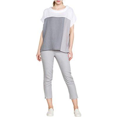 East Linen Capri Trousers