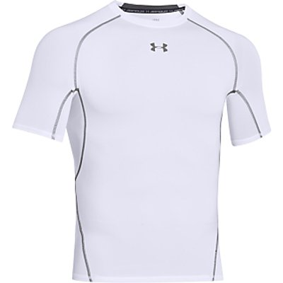 Under Armour HeatGear Armour Short Sleeve Compression Shirt, White