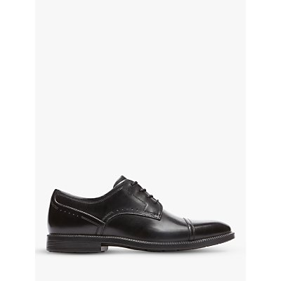 Rockport Dressport Toecap Shoes, Black