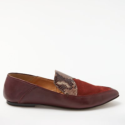 Modern Rarity Gezana Pointed Toe Slipper Loafers